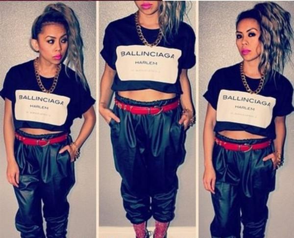 shirt harlem ballinciaga harlem fashion fashion blogger asos topshot miley cyrus kylie jenner pyrex rachelteetyler