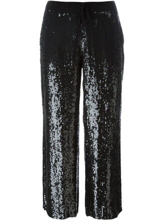 pants women embellished black