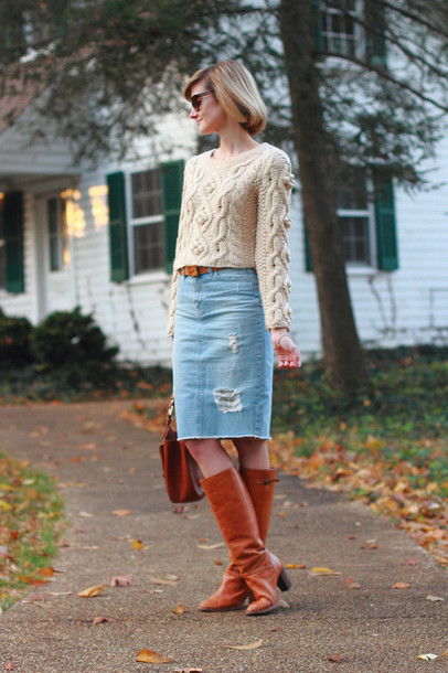district of chic sunglasses sweater jewels belt skirt shoes bag