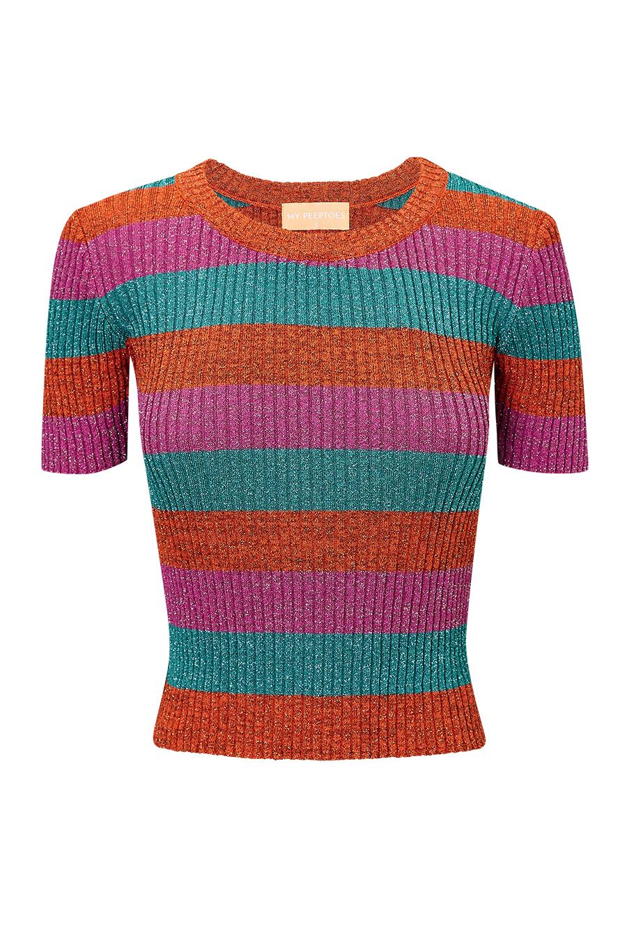Top Lurex Multicolor - Mypeeptoeshop