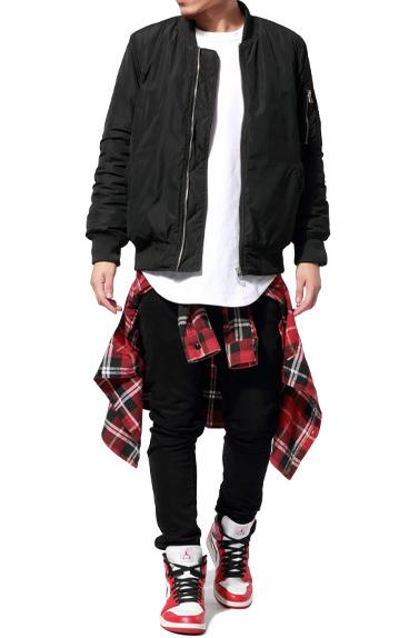 The divergent bomber jacket