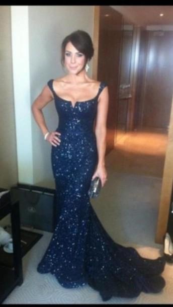 dress prom dress important prom dress katie richards blue sequin dress pants stylish sweats