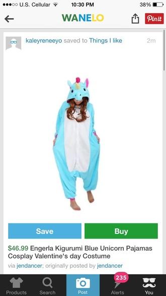 pajamas ariana grande unicorn onesie