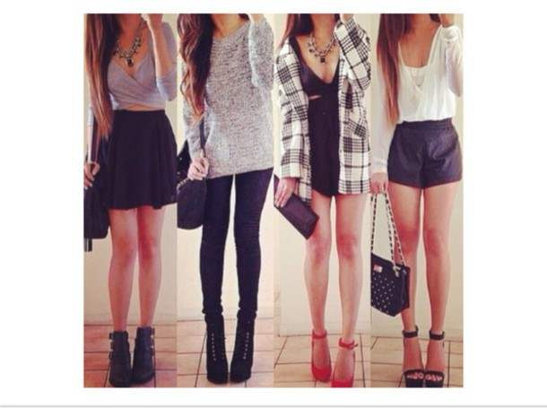 Knee high socks outfits with converse