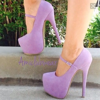 shoes heels strappy heels purple