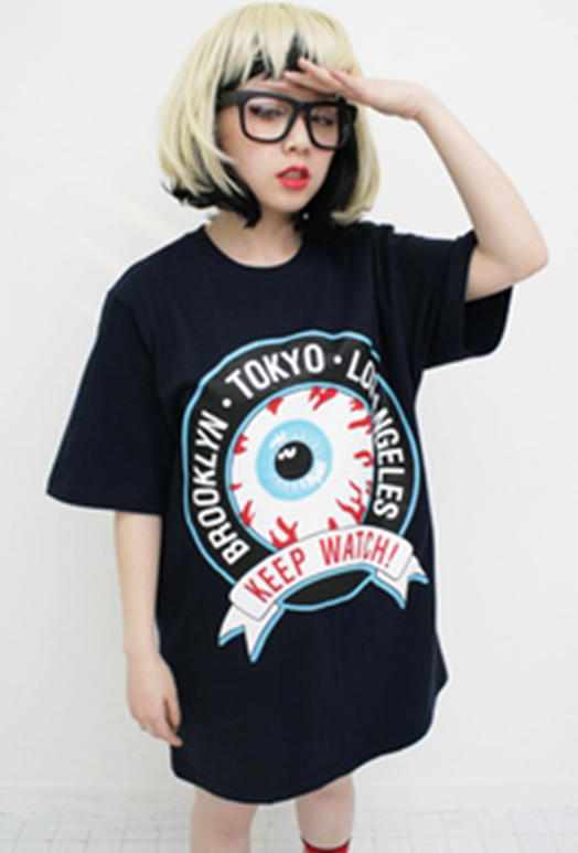 Red Eyeball T Shirt - T-Shirts | RebelsMarket