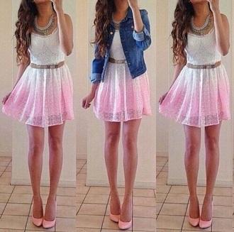 dress white dress white rose pink rose dress pink dress girly