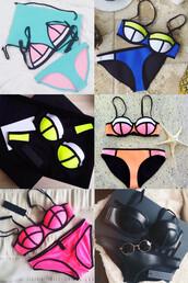 swimwear,zefinka,bikini,triangl,beach,summer,black bikini,sexy,swimwear two piece,dope,swag,tumblr,instagram