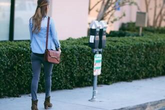 ashlee frazier blogger shirt pants shoes bag jewels