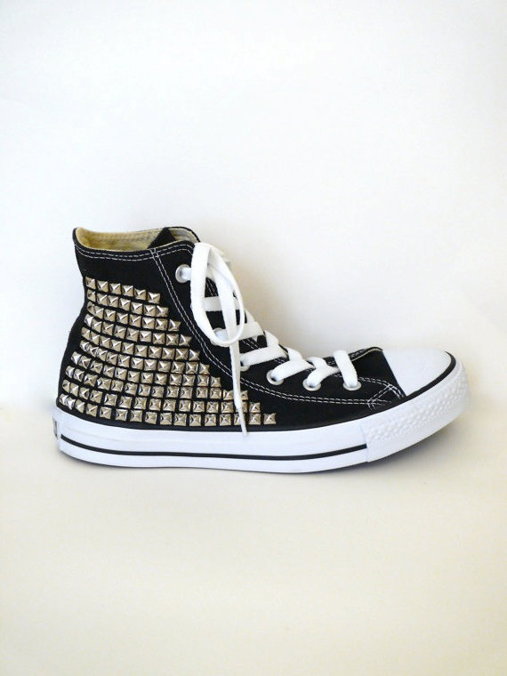 How To Make Studded Converse Shoes