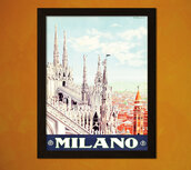 top,italy,vintage,tourism,buy,gift ideas,and,home decor,italian,giclee,milan,dorm room,free,poster,idea,travel,1928,print