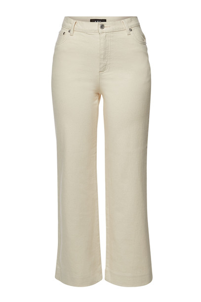 A.P.C. Sailor Flared Jeans  in white