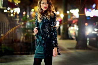 the marcy stop blogger jacket dress bag tights jewels shoes