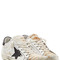 Super star leather and haircalf sneakers