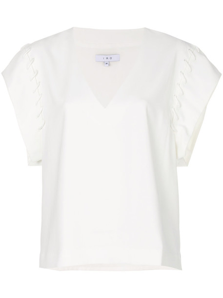 Iro jumper women white sweater