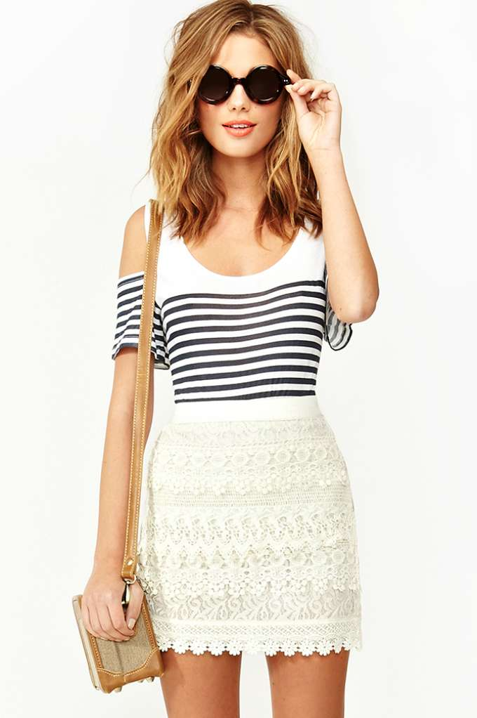 Wander Crochet Skirt | Shop What's New at Nasty Gal