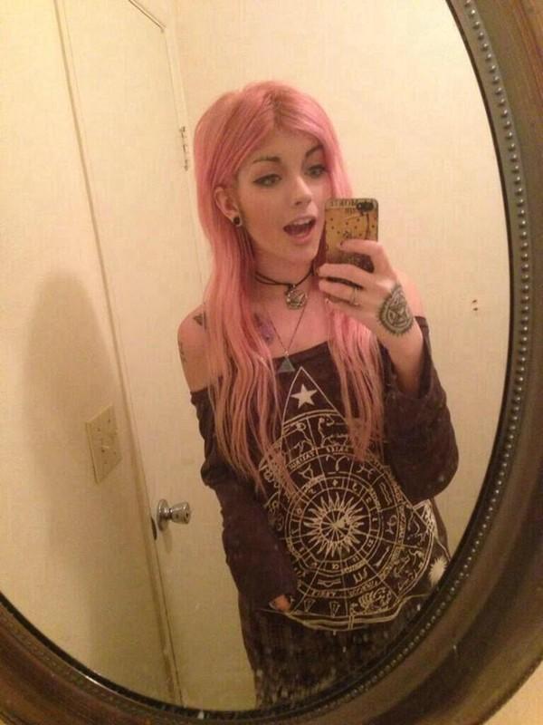 sweater zodiac emo goth pastel goth grunge soft grunge black