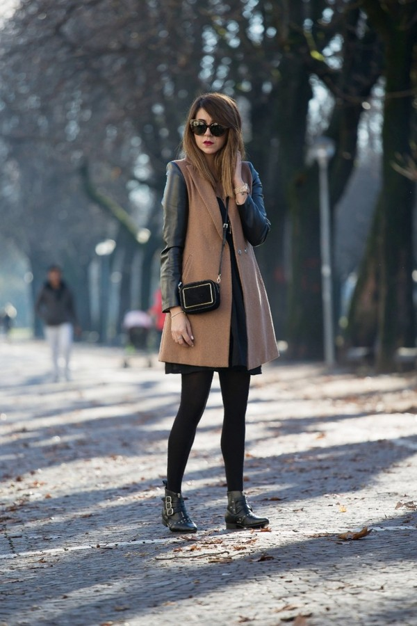 scent of obsession coat dress bag shoes