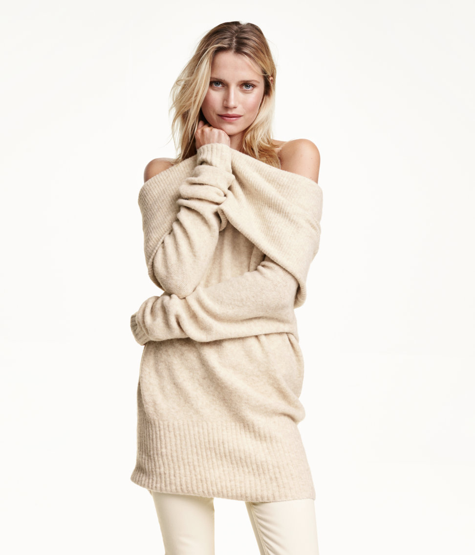 H&M Off-the-shoulder Sweater $49.99