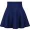 Blue high waist ruffle skirt - sheinside.com