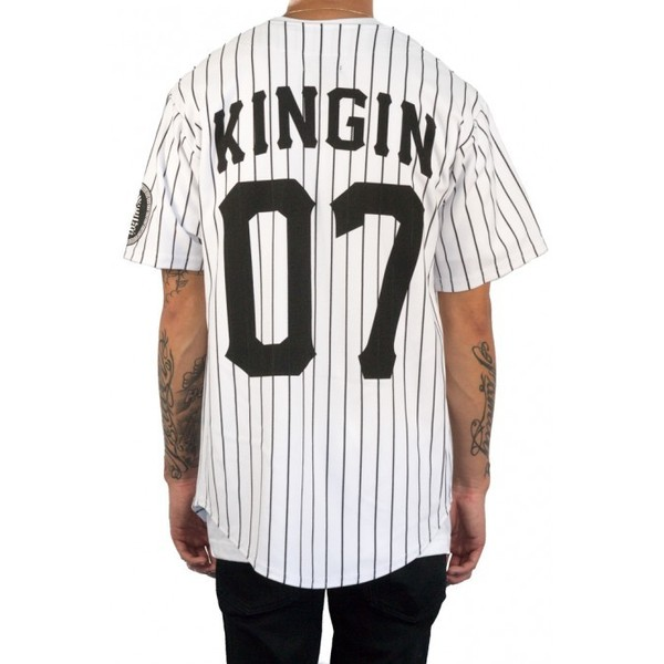 Last kings kingin baseball jersey white