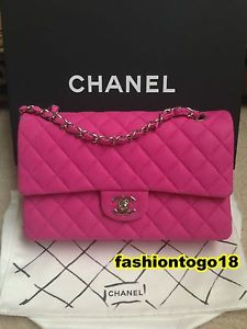 47395be84cd Chanel 13S Hot Pink Medium 2 55 Classic Flap Bag