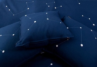 home accessory sheets space blue white stars bedding royal blue hipster