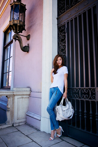 tsangtastic t-shirt jeans shoes bag