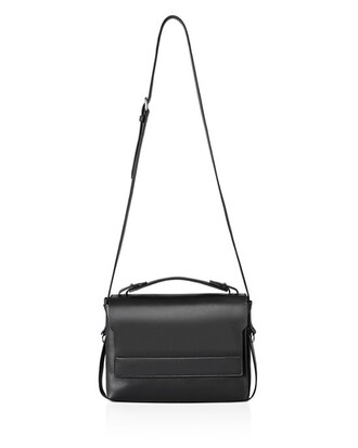 bag black bag black leather bag shoulder bag minimalist
