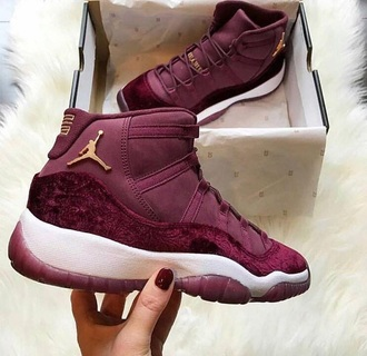 shoes jordan wine gold basketball