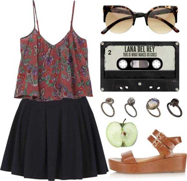 tank top floral tank top tank top boho tumblr clothes skirt