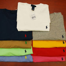 Polo ralph lauren t shirt pocket mens tee t