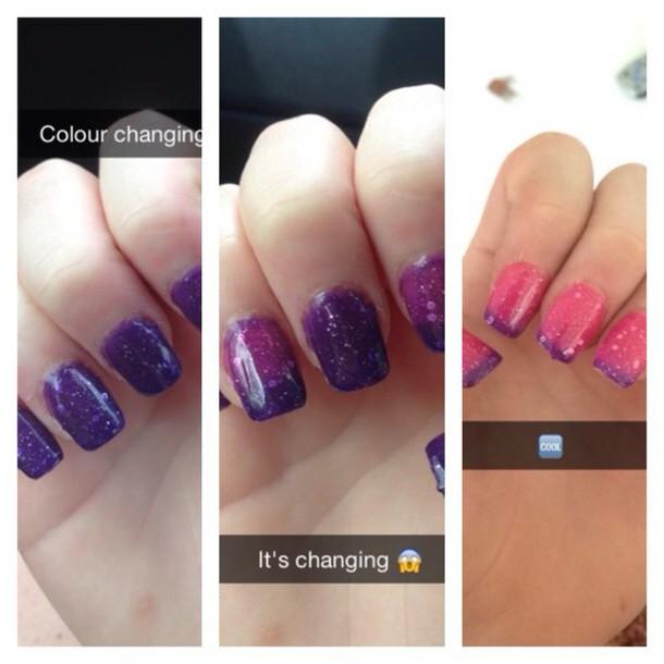 nail polish colour changing nail polish