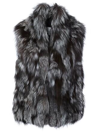 jacket sleeveless grey