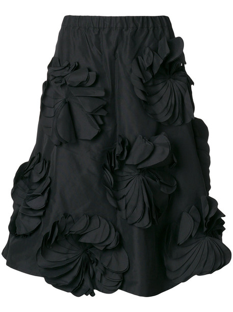 Paskal skirt flower skirt women black