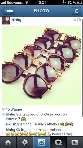 sunglasses beautiful brown sunglasses black vintage cool sun