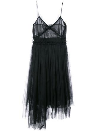 gown women black dress