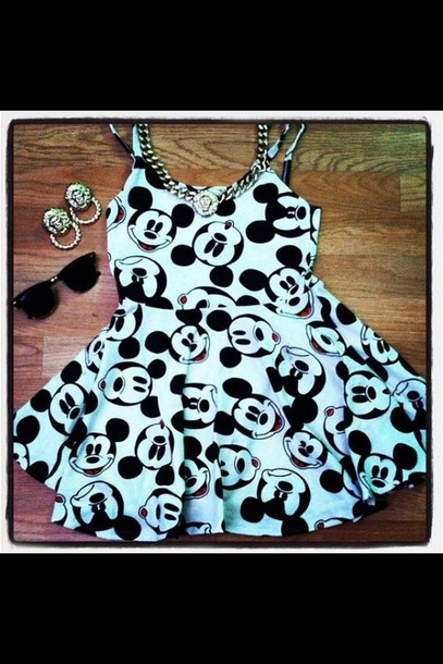 dress mickey mouse dress