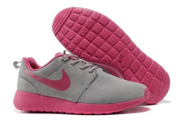shoes nike roshe run rose fluo