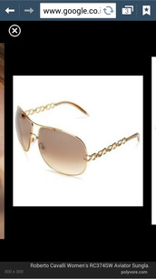 sunglasses,gold,chain