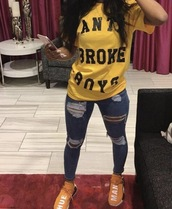 top,clothes,guys,broke,yellow
