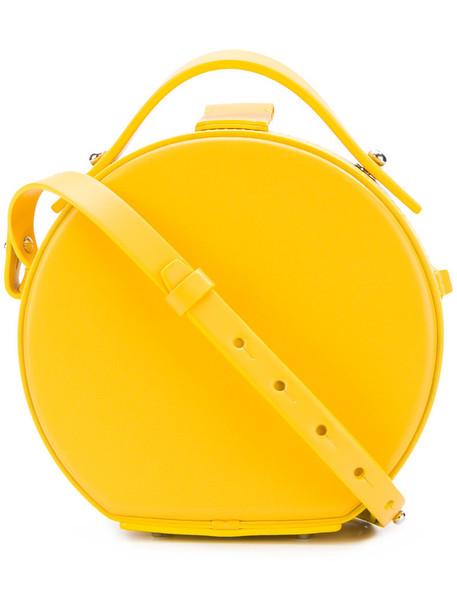 Nico Giani women bag leather yellow orange