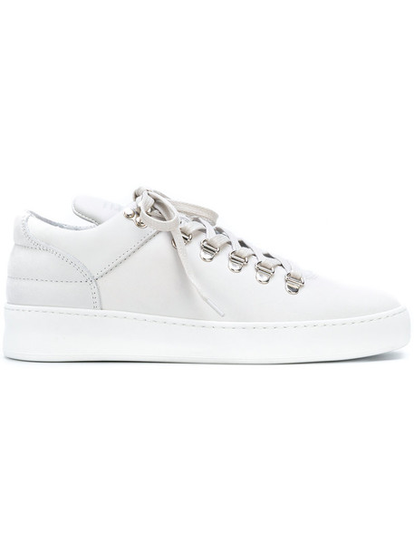 Filling Pieces women sneakers leather white shoes
