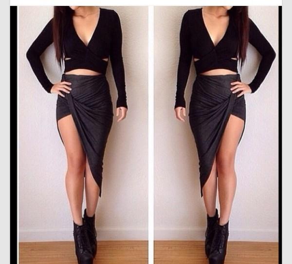 blouse skirt