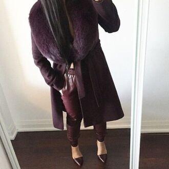 coat trench coat furcollarjacket coats with faux fur lining coats coats and jackets longcoat
