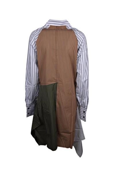 J.W. Anderson dress shirt dress patchwork
