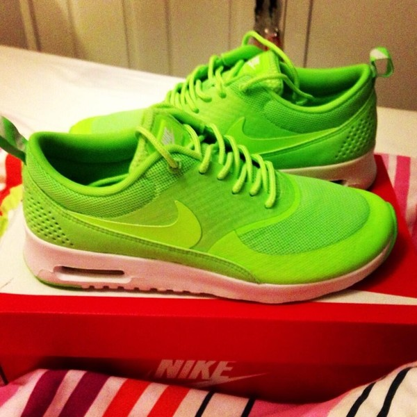 Excellent Nike Free 30 V5 Women Neon Green Shoes For Sale  6690