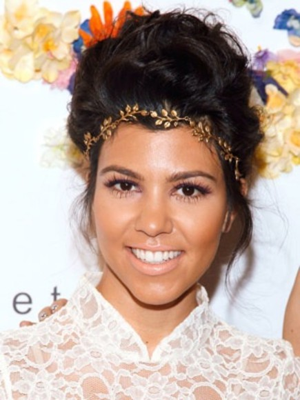 jewels kourtney kardashian keeping up with the kardashians gorgeous jewelry headband