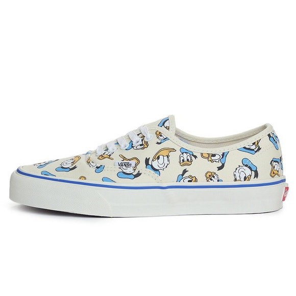 shoes vans vans authentic vans sneakers donald duck vans donald duck