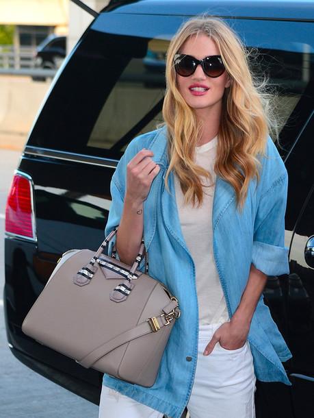 bag givenchy givenchy bag antigona givenchy antigona nude bag sunglasses rosie  huntington-whiteley denim jacket 936012265af59